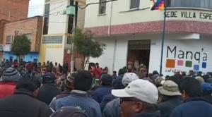 Vecinos de El Alto denuncian abusos para obligarlos a marchar, varias zonas determinan no acatar convocatorias de dirigentes masistas 1