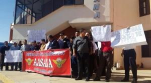 Franklin Portugal designado como director interino de Aasana, trabajadores suspendieron su estado de emergencia 1