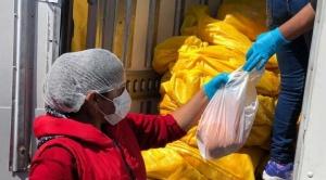 Positivo resultado de primera jornada de venta de carne de pollo en La Paz
