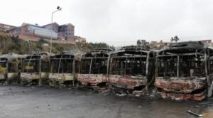 IDIF determina que en conflictos en Senkata se usaron dinamitas y en quema de buses Pumakatari se usó bombas molotov 1