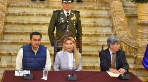 Jeanine Añez elimina solicitud de visas para ciudadanos estadounidenses e israelíes