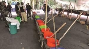 Felcn destruye dos fábricas de cocaína en Roboré