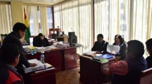 La Paz, quema de buses municipales fue planificada en reuniones realizadas en sede de organización sindical de choferes