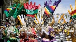 Folkloristas celebran declaratoria del Gran Poder como Patrimonio Cultural Inmaterial de la Humanidad