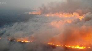 Incendio de la Chiquitania entre las catástrofes más devastadoras de 2019