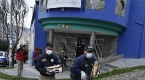 """Policía allana oficinas de la Agetic en investigación contra """"guerreros digitales"""""""