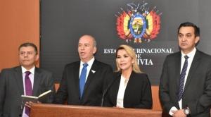 """Añez va por la ampliación de mandato del Legislativo: """"No podríamos gobernar sin una Asamblea"""""""