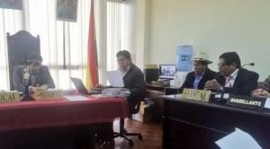 Por problemas en su salud, suspendida Audiencia de apelación de detención preventiva de Nemesia Achacollo