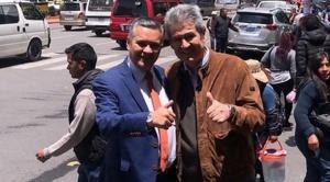 José Luis Paredes regresa a Bolivia luego de 10 años