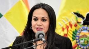 """Ministra Lizárraga asegura que para que """"Bolivia esté unida más que nunca"""" solo falta un acercamiento con el Chapare"""