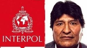 Fiscalía solicita a la Interpol activar notificación roja contra Evo Morales