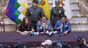 """Gobierno anuncia juicio a Evo Morales por proponer crear """"milicias armadas"""" en el país"""