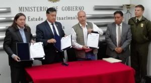 """Ministro Murillo: Evo Morales """"es un terrorista confeso"""" y le ratifica cárcel"""