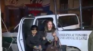 En La Paz, Elba Terán a la espera de audiencia de medidas cautelares, inteligencia tras su hermana Juana