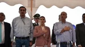 """Presidenta Añez pide a sectores afines al MAS que no escuchen pedidos de Evo que se muestra """"violento y enloquecido"""""""