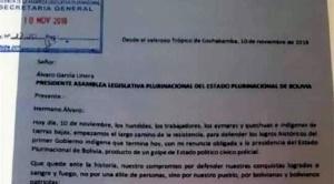 Este martes la ALP tratará luego de dos meses las cartas de renuncia de Evo Morales y Álvaro García Linera