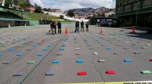 Felcn incauta droga que ingresó por Perú para ser procesada en el Trópico de Cochabamba 1