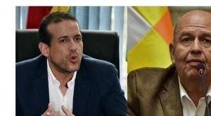 """Camacho acusa a Murillo de presionar a perseguidos políticos y éste le dice """"no grabo, no extorsiono"""""""