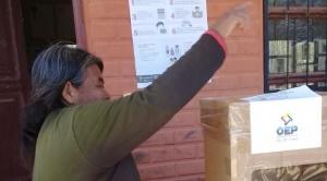 Con registro electrónico de binomios, al menos 7 frentes inician carrera electoral contra el MAS