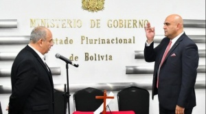 Javier Issa posesionado como nuevo viceministro de Régimen Interior y Policía