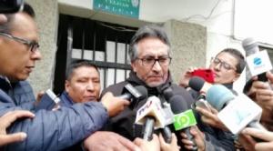 """Gustavo Torrico sostiene que """"todavía existen jueces probos en el país"""" luego de conocer su detención domiciliaria"""