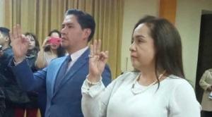 Juan Lanchipa posesiona a Marco Cossio como nuevo fiscal departamental de La Paz en remplazo de Williams Alave