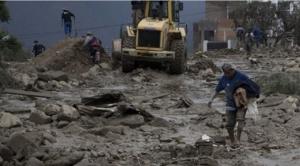 Lluvias dejan al menos 17 fallecidos en 41 municipios del país