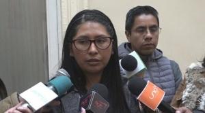 Senadora Eva Copa pide a Demócratas honrar y cumplir con su palabra y no entorpecer la Ley de Cumplimiento de DDHH