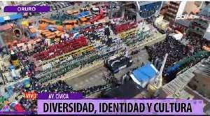 Se realiza XIX Festival Nacional de Bandas que abre celebración del Carnaval de Oruro
