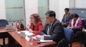 Fiscal Lanchipa se acogió a su derecho al silencio en declaración dentro del juicio de responsabilidades en su contra