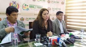 Gobierno anula 12 asentamientos en la Chiquitanía por irregularidades