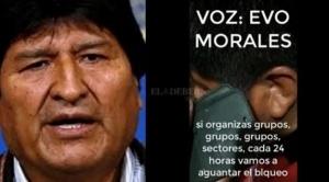 Resultados de pericia al audio Evo Morales y Faustino Yucra se conocerá este viernes