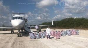 """Felcn revela que droga del """"narcojet"""" fue cargada en Guayaramerín y están implicados empleados de Aasana e YPFB"""