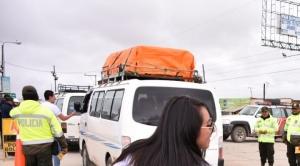 Policía Boliviana y CBN realizan controles y concientizan sobre el Consumo Inteligente en el carnaval 1