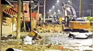 Tiquipaya sufre por segunda vez una mazamorra que afecta a varias viviendas 1