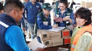Gobierno moviliza 40 maquinarias y entrega cocinas y garrafas a familias afectadas en Tiquipaya