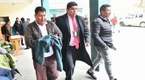 Exdirector del INRA con detención preventiva de  60 días en el penal de San Pedro de La Paz 1
