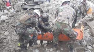 Después de una semana, encuentran cuerpo de una persona debajo de la mazamorra en Tiquipaya