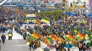 El Alto celebra 35 años de su creación y Chapetón denuncia que gente foránea agitó protestas