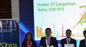 Competencia Huawei TIC premia a sus ganadores en Bolivia