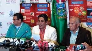 La Paz: Gobernador Patzi recomienda a la población evitar viajes y no asistir a lugares públicos