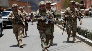 Militares y policías harán patrullaje para evitar la circulación de personas después de las 18:00 horas