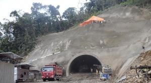 Deslizamiento en túnel #4 de El Sillar