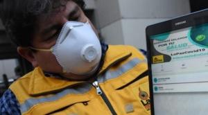 La Alcaldía de La Paz lanza una aplicación móvil para autodiagnosticar posibles casos de Covid-19