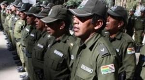 Si bien ya existe autorización de la Presidenta Añez, incremento salarial a policías aún se encuentra en estudio. 1
