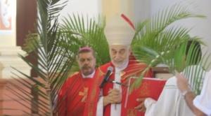Iglesia inicia la Semana Santa con bendición de ramos y un llamado a no ser hostiles con pacientes por coronavirus