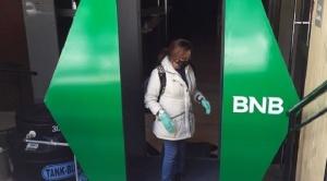 El BNB instala cámaras de desinfección en sus agencias habilitadas en todo el país