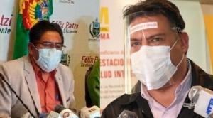 Revilla señala que Patzi puede ser sujeto a procesos por poner en riesgo la salud de la población