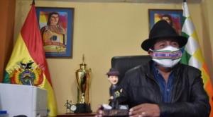 Rafael Quispe afirma que lo echaron, lo procesaron y no corresponde que continúe en el Gobierno