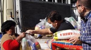 CBN dona ocho toneladas más de alimentos a familias en Cochabamba
